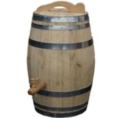 Waar kunt u een goede houten regenton kopen?